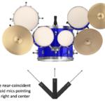 Figure 15.10. Left-right-centre recording technique