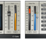 Figure 16.5. Waves C1 plug-in in (a) gate and (b) expander modes